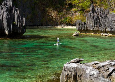 El Nido Lagoon SUP Tour